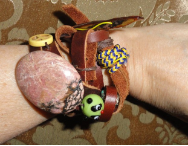 Rock Around the World Wrap Bracelet